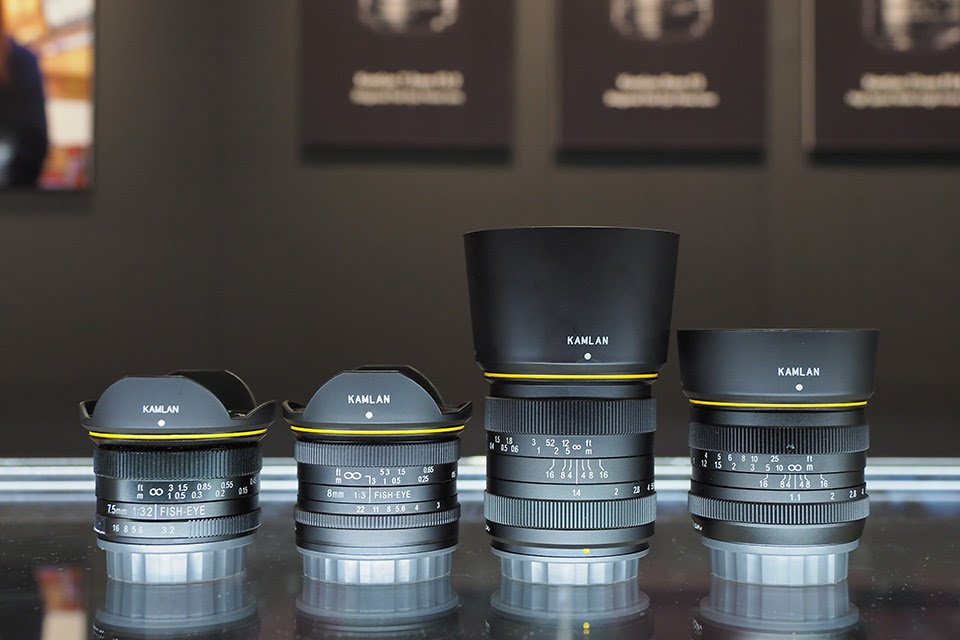 Introduction of kamlan lens by japanese photographer.